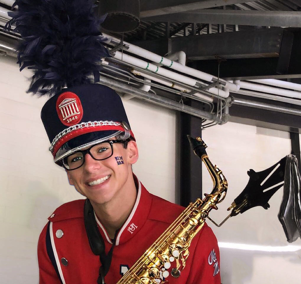 Parker Peterson, Student Ambassador for the Department of Music