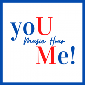 Podcast logo for the yoU Me Music Hour